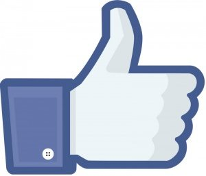 This is the Facebook Thumbs Up Logo