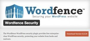 This is a screenshot of the Wordfence Plugin