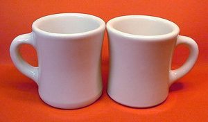 photo of coffee mugs in website design
