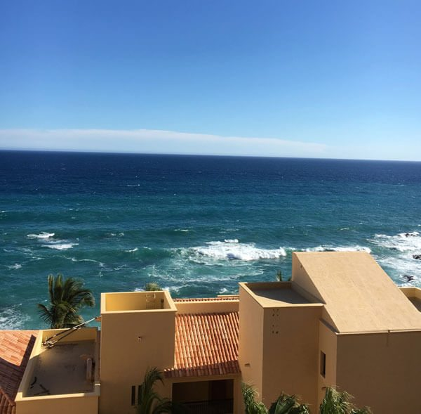 View from window at Grand Fiesta Americana Los Cabos