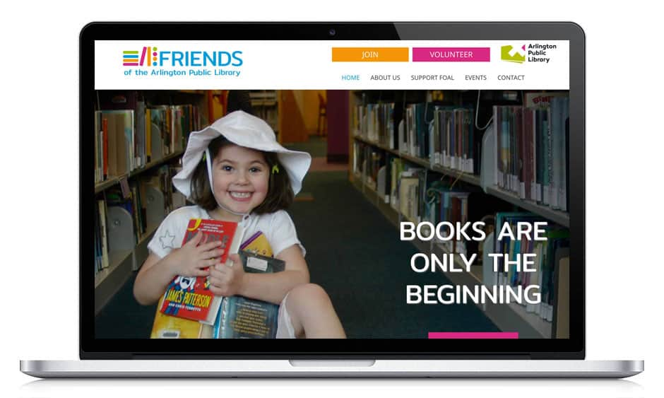 Friends of the Arlington Public Library Website