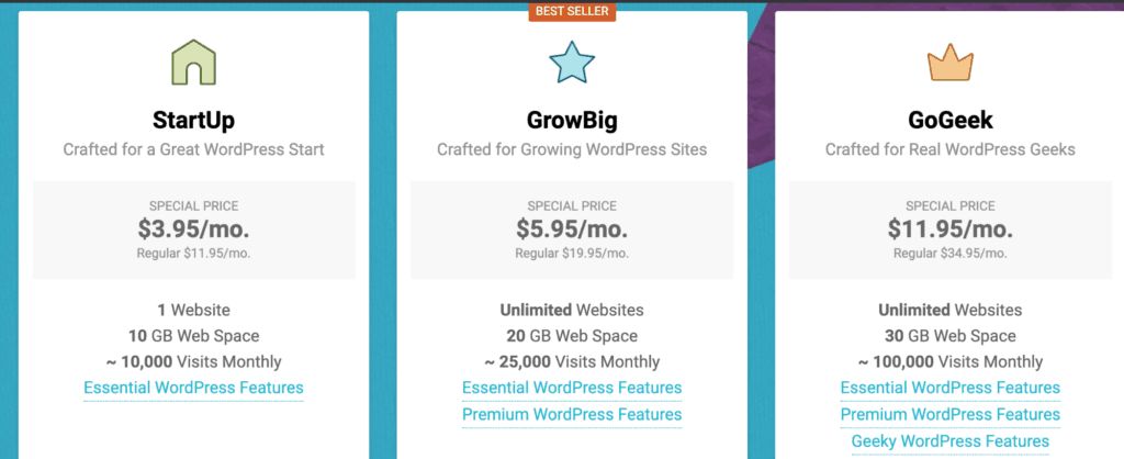 Site Ground WordPress Hosting