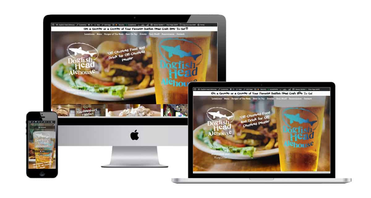Dogfish Head Alehouse Restaurant Website