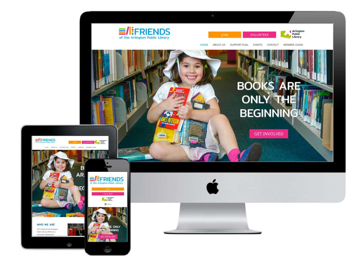 friends of the Arlington Library Website