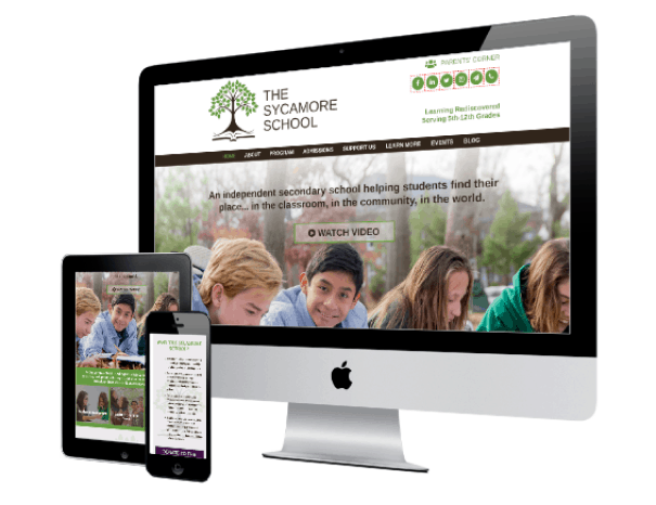 The Sycamore School Website