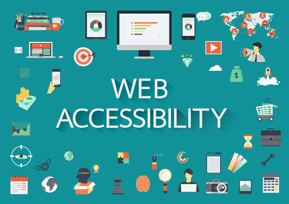 Website Accessibility icon images