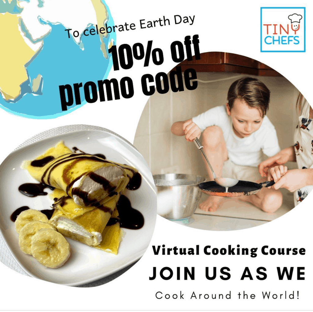 Tiny Chefs Online Course Instagram promotion