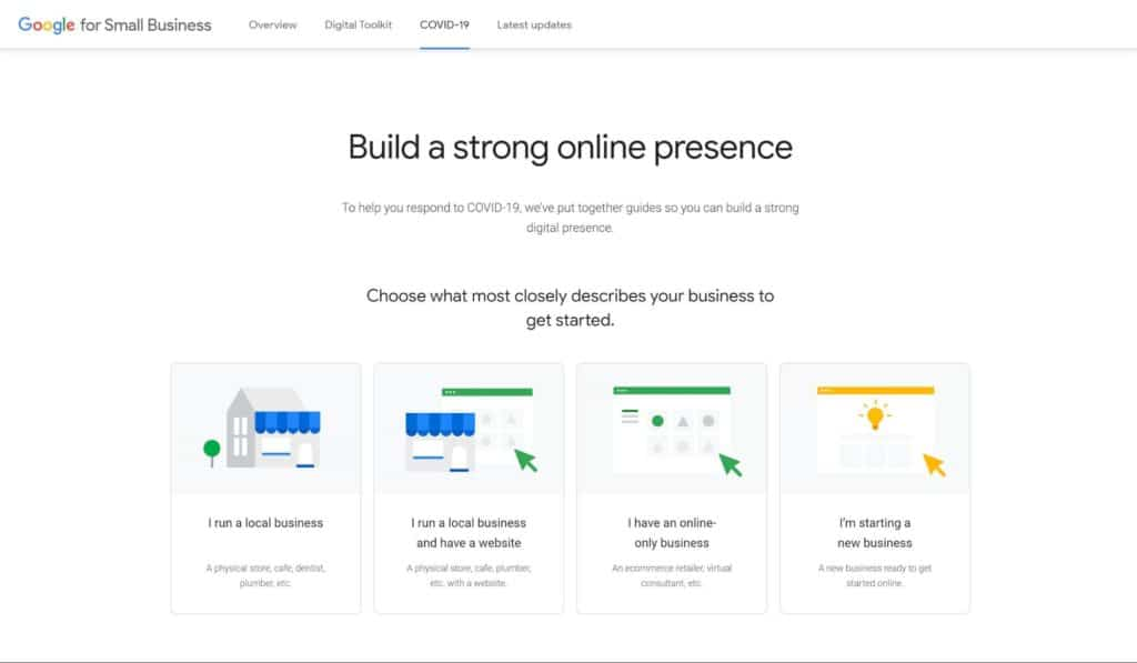 Google My Business Resources for schools