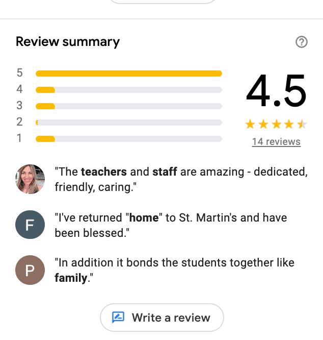 GoogleMyBusinessSchoolReviews