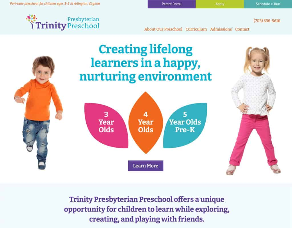 Trinity Preschool Website